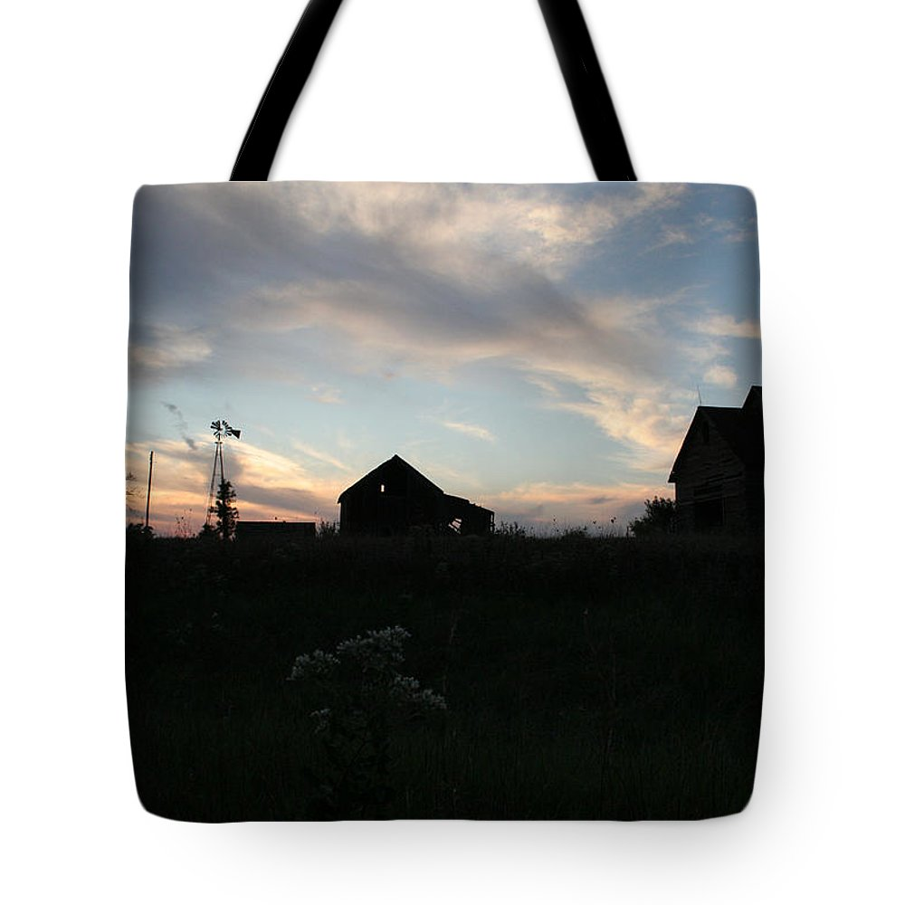 Abandon Tote Bag featuring the photograph Odell Dusk by Dylan Punke