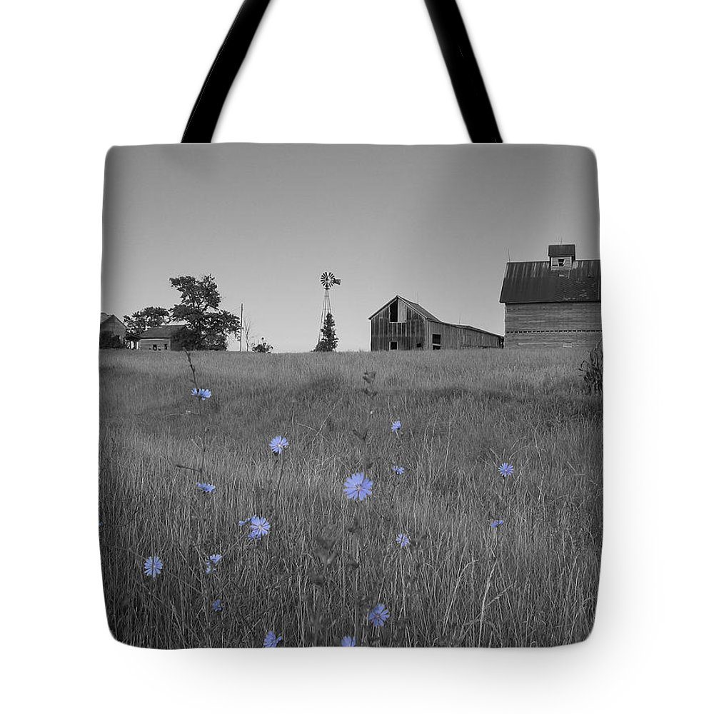 Landscape Tote Bag featuring the photograph Odell Farm Iv by Dylan Punke