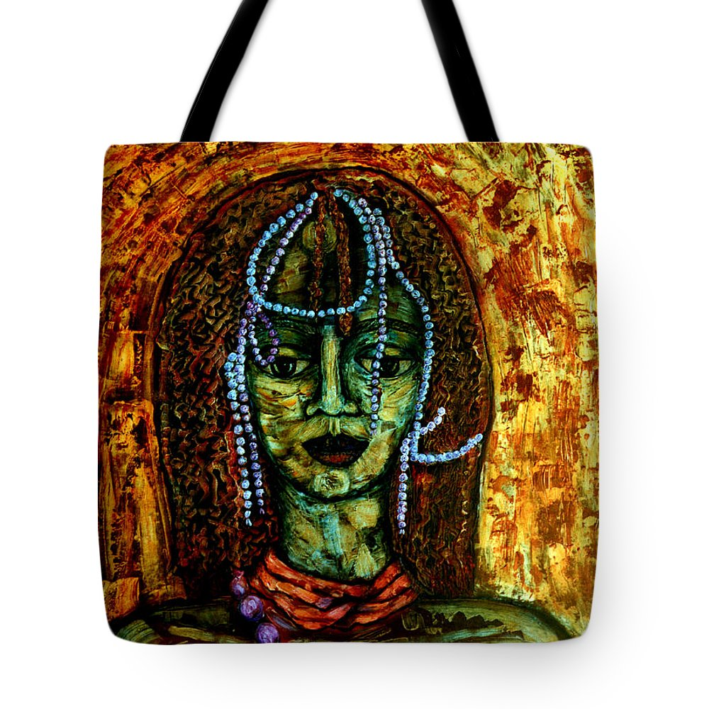 Memories Tote Bag featuring the painting Of Another Childhood I Keep Memories by Madalena Lobao-Tello