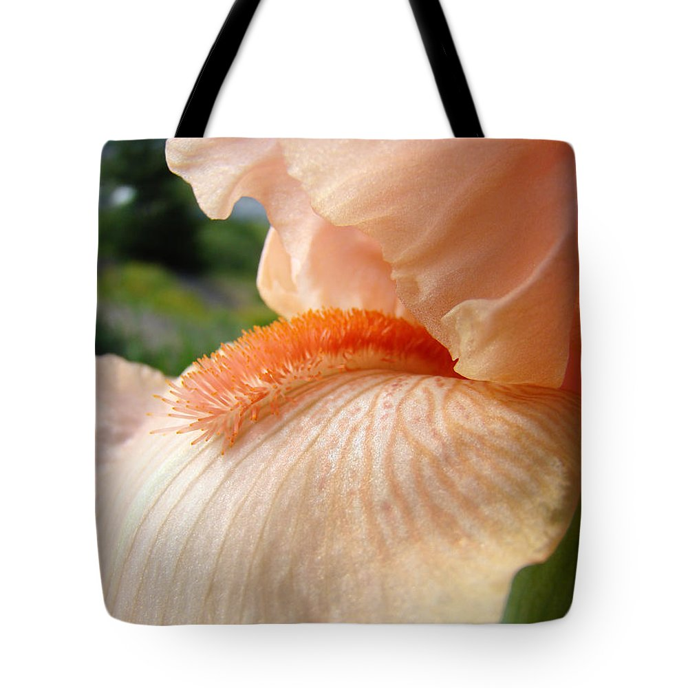Office Art Prints Tote Bag featuring the photograph Office Art Irises Orange Iris Flowers 9 Giclee Prints Corporate Art Baslee Troutman by Baslee Troutman
