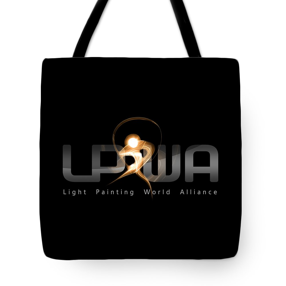 Lpwa Tote Bag featuring the photograph Official Lpwa Logo by Sergey Churkin