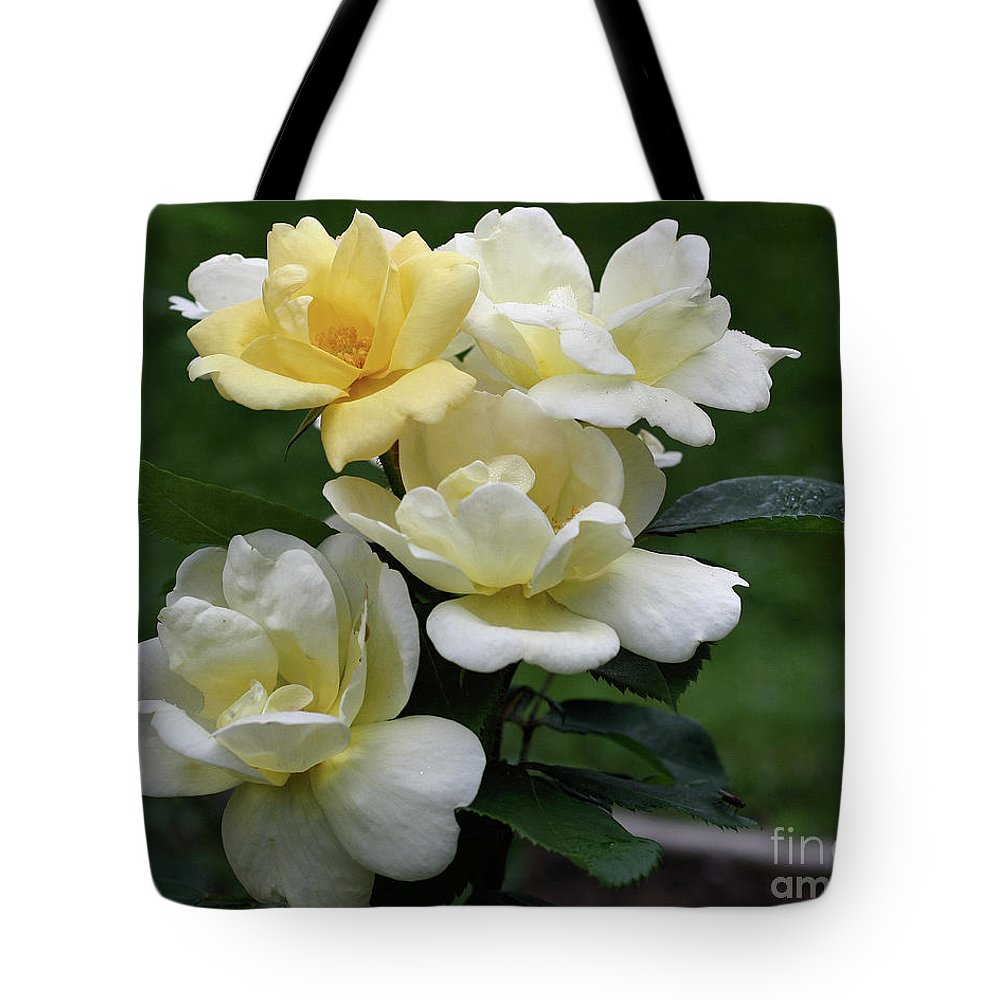 Flower Tote Bag featuring the photograph Oh So Pretty Roses by Smilin Eyes Treasures