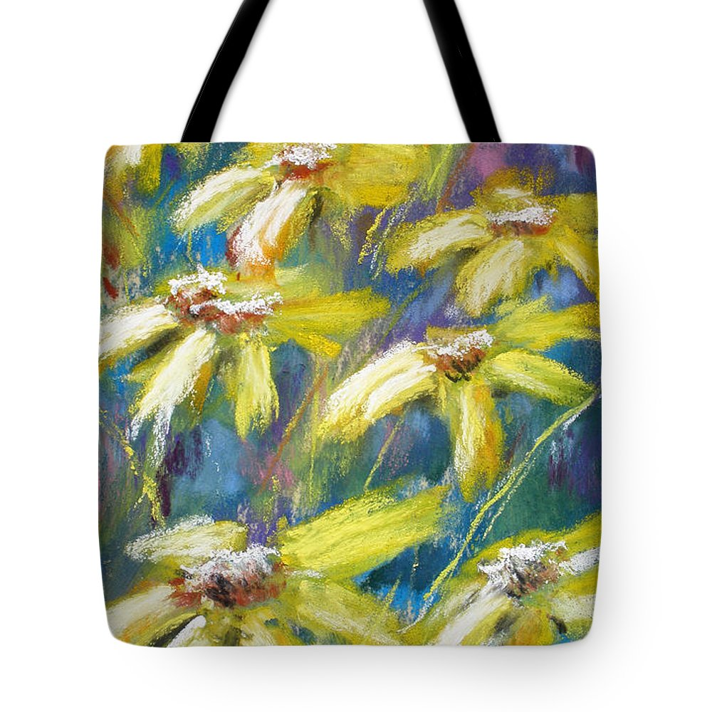 Sunshine Tote Bag featuring the painting Oh Sunny Day by Cathy Weaver