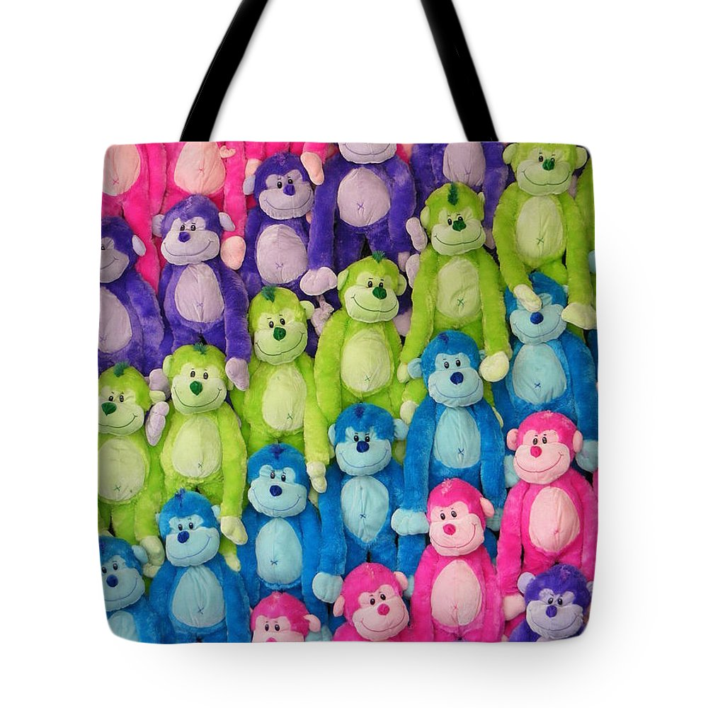 Ok Smiles Tote Bag featuring the photograph Ok Smiles Everyone by Ed Smith