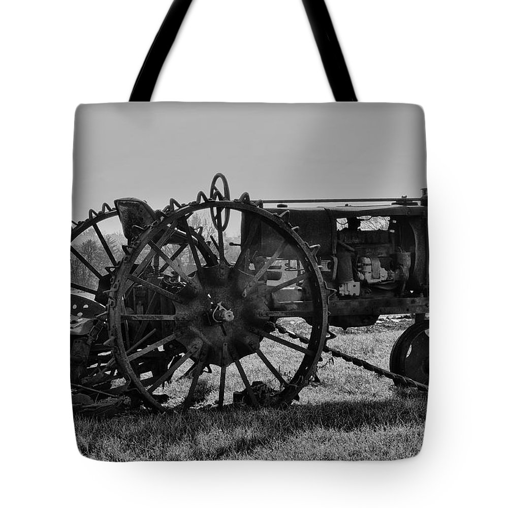 Tractor Tote Bag featuring the photograph Old Betsy by Bill Cannon