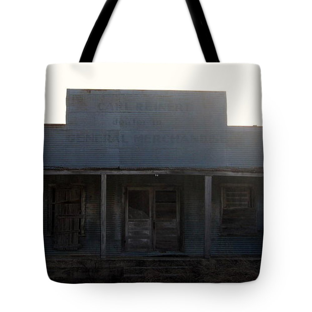 Old Country Store Tote Bag featuring the photograph Old County Store Indian Gap Tx by Amy Hosp