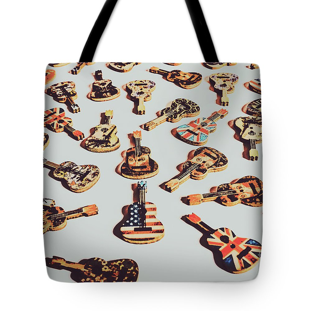 Rock Tote Bag featuring the photograph Old Days Of Rock N Roll by Jorgo Photography - Wall Art Gallery