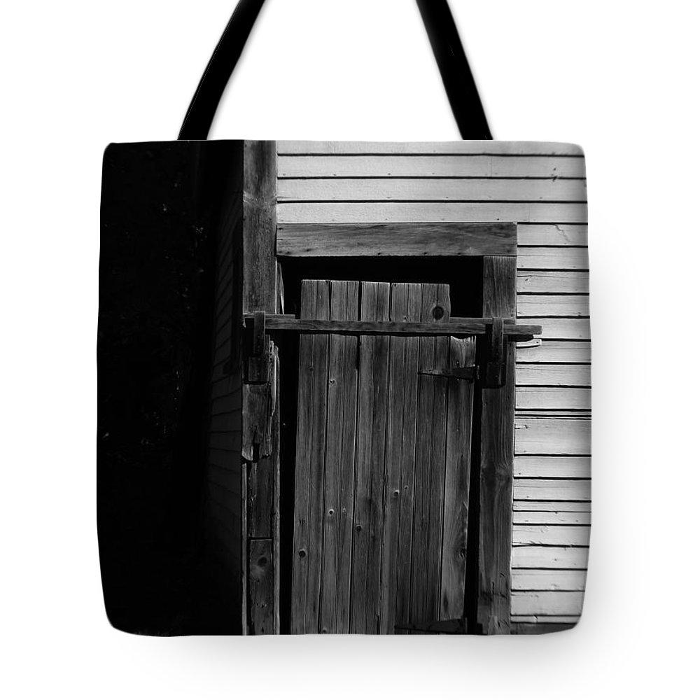Old Door Tote Bag featuring the photograph Old Door by Michael Mooney