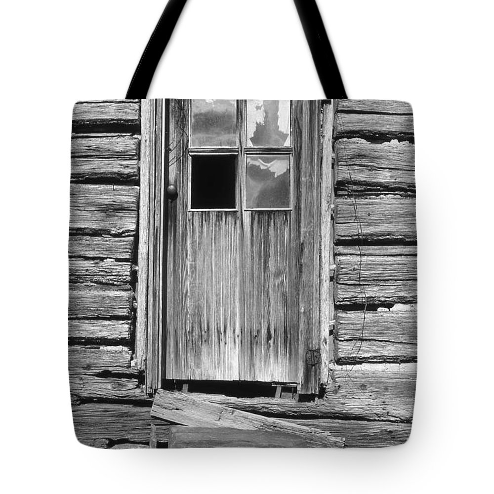 Aged Tote Bag featuring the photograph Old Door by Richard Rizzo