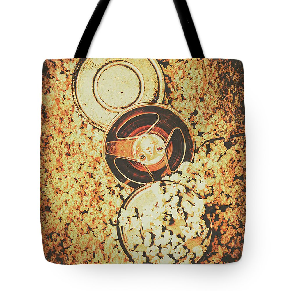 Motion Tote Bag featuring the photograph Old Film Festival by Jorgo Photography - Wall Art Gallery