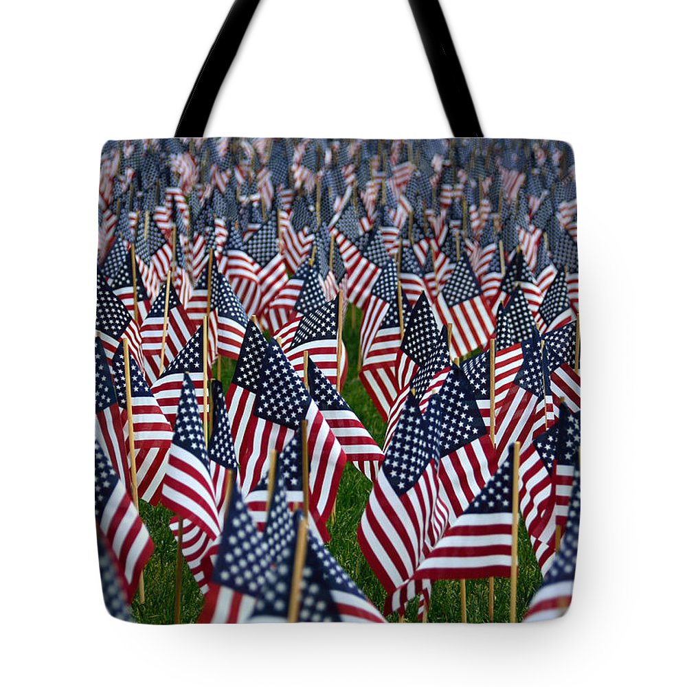American Flag Tote Bag featuring the photograph Old Glory by Kevin Myron