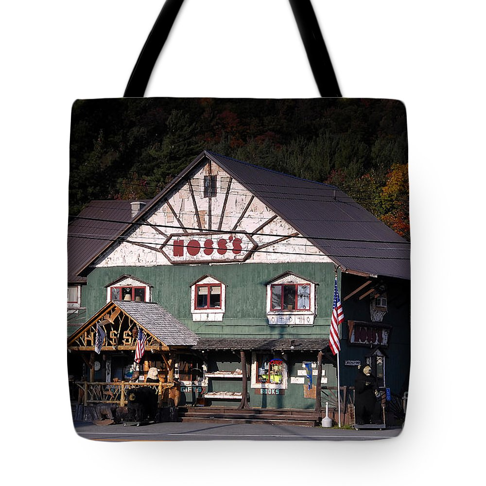 Old Store Tote Bag featuring the photograph Old Hoss's by David Lee Thompson