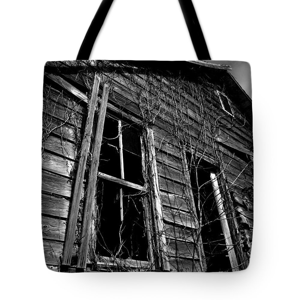 old House Tote Bag featuring the photograph Old House by Amanda Barcon