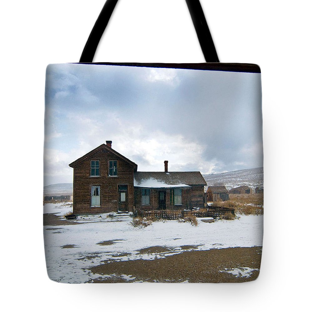 California Tote Bag featuring the photograph Old House by Norman Andrus