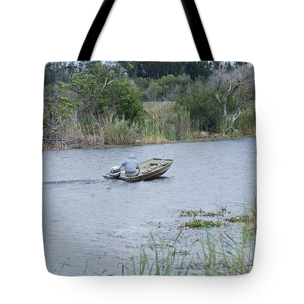 River Tote Bag featuring the photograph Old Man River by Rob Hans