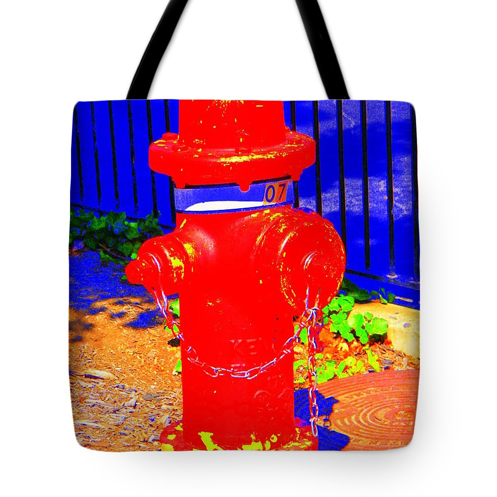 Old Tote Bag featuring the photograph Old No.7 by Ed Smith