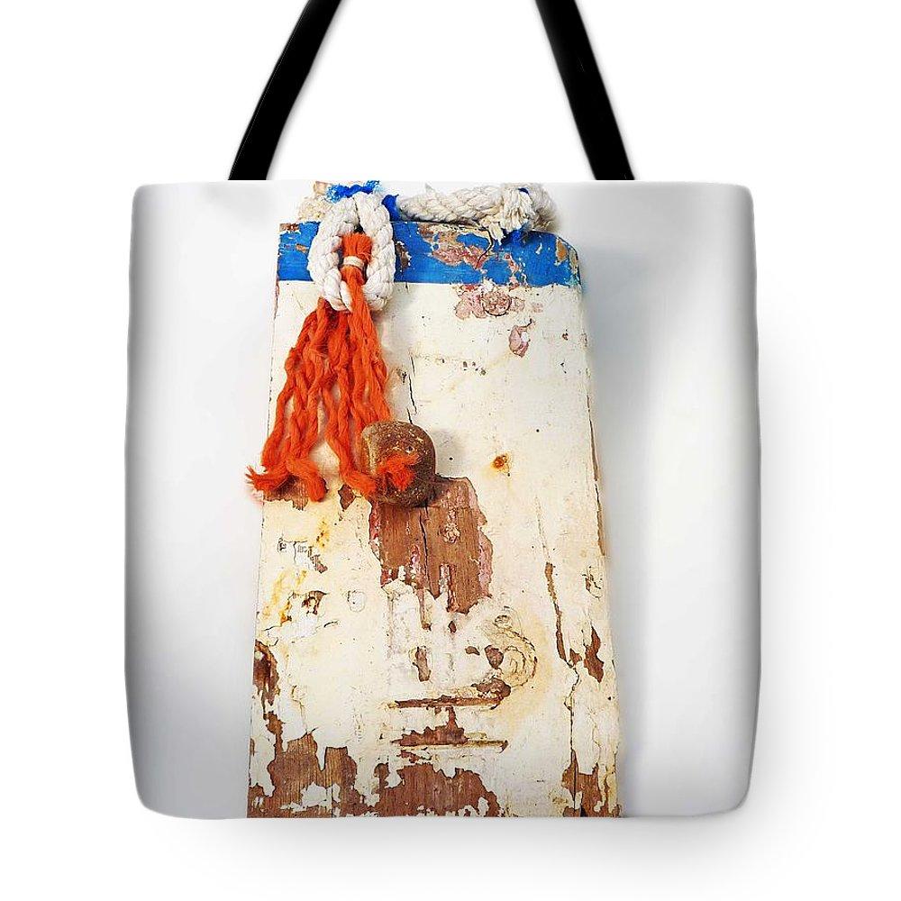 Sculpture Tote Bag featuring the digital art Old Salt by Charles Stuart