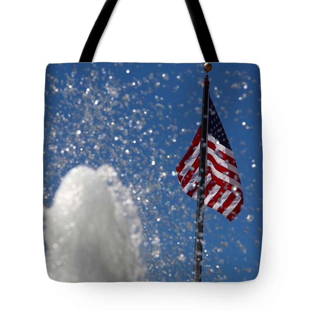 Old San Juan Puerto Rico Old Glory Tote Bag featuring the photograph Old San Juan Puerto Rico Old Glory by Robert Smith