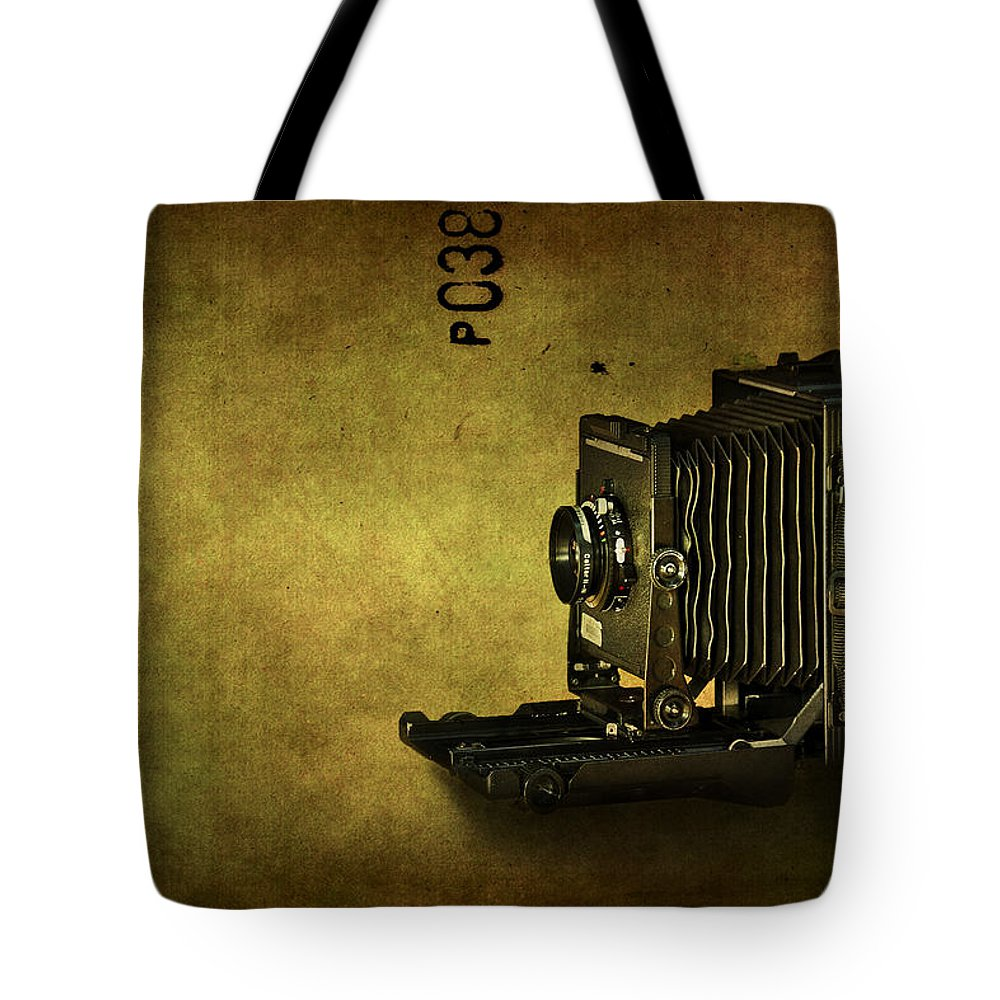 Camera Tote Bag featuring the photograph Old School by Evelina Kremsdorf