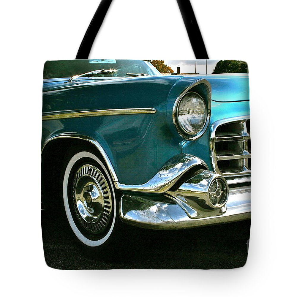 Car Tote Bag featuring the photograph Old School by Rick Monyahan