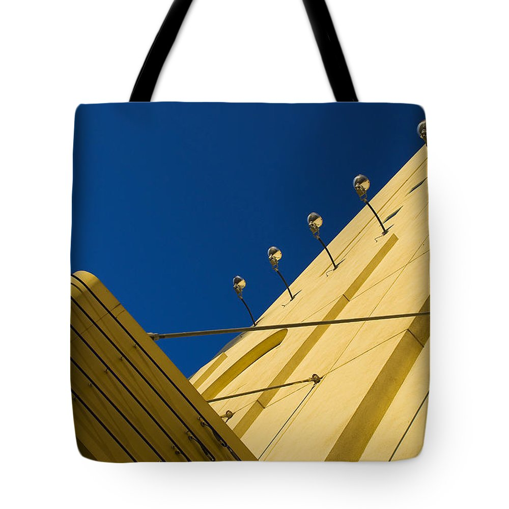 Electric Tote Bag featuring the photograph Old School Vegas by Skip Hunt