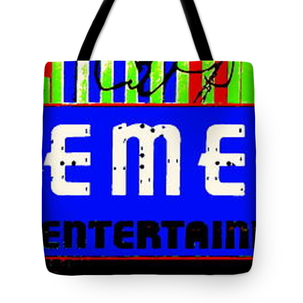 Music Tote Bag featuring the photograph Old Theater by Ed Smith
