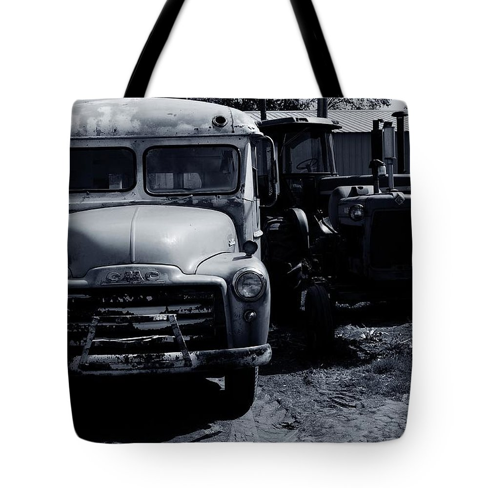 Old Tote Bag featuring the photograph Old Things by Kathleen Struckle