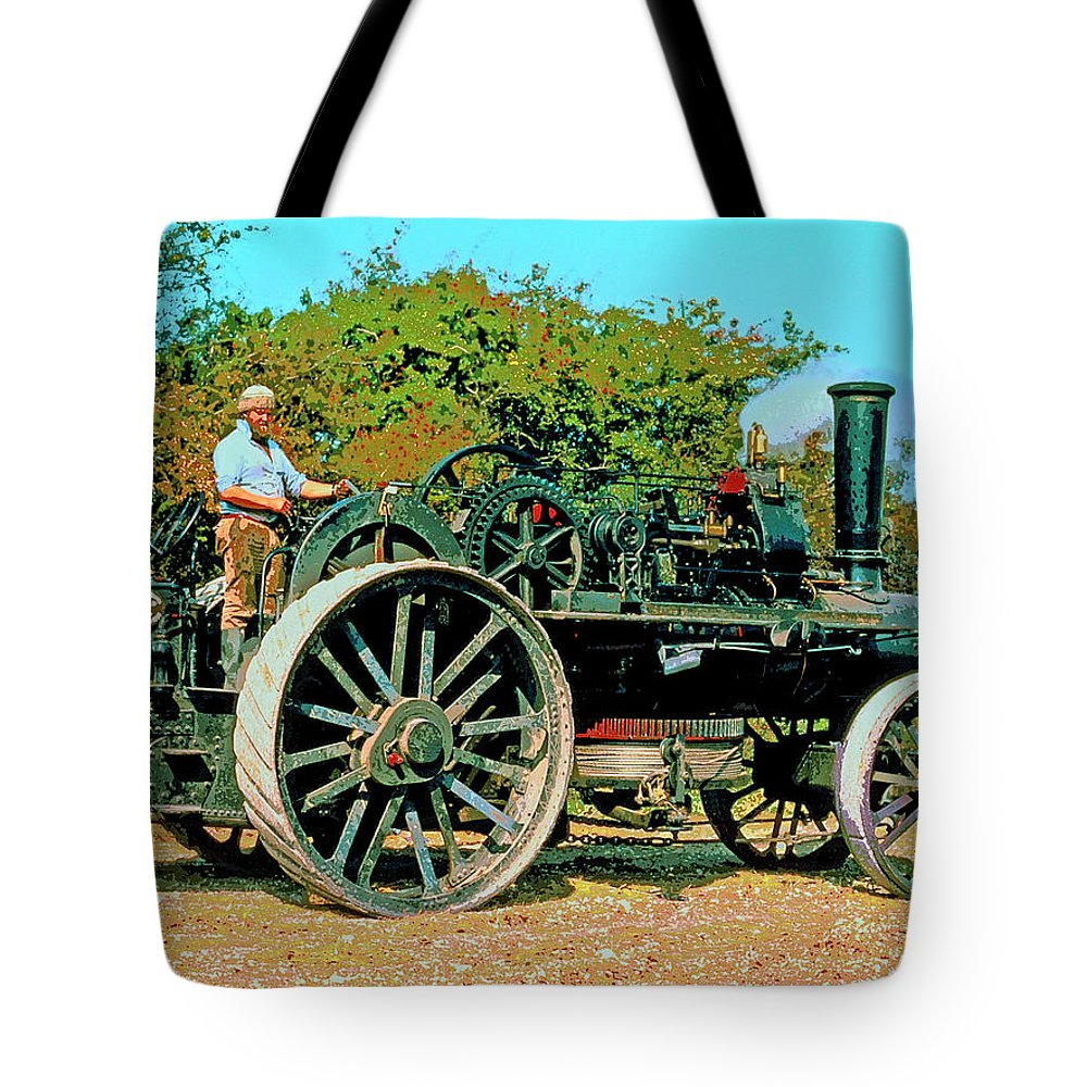 Old Thor Tote Bag featuring the photograph Old Thor by Dominic Piperata