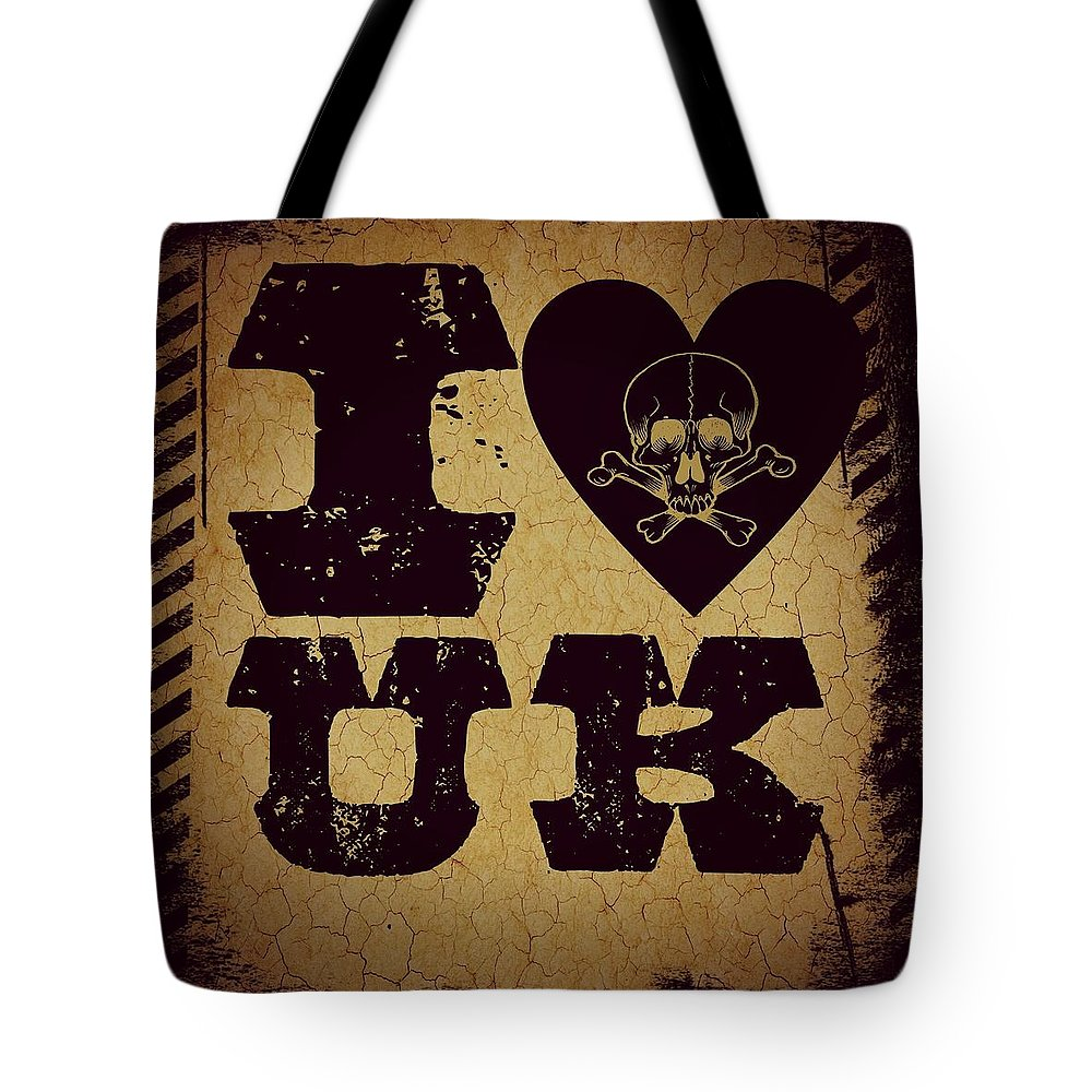 Uk Tote Bag featuring the digital art Old Uk by Randolph Ping