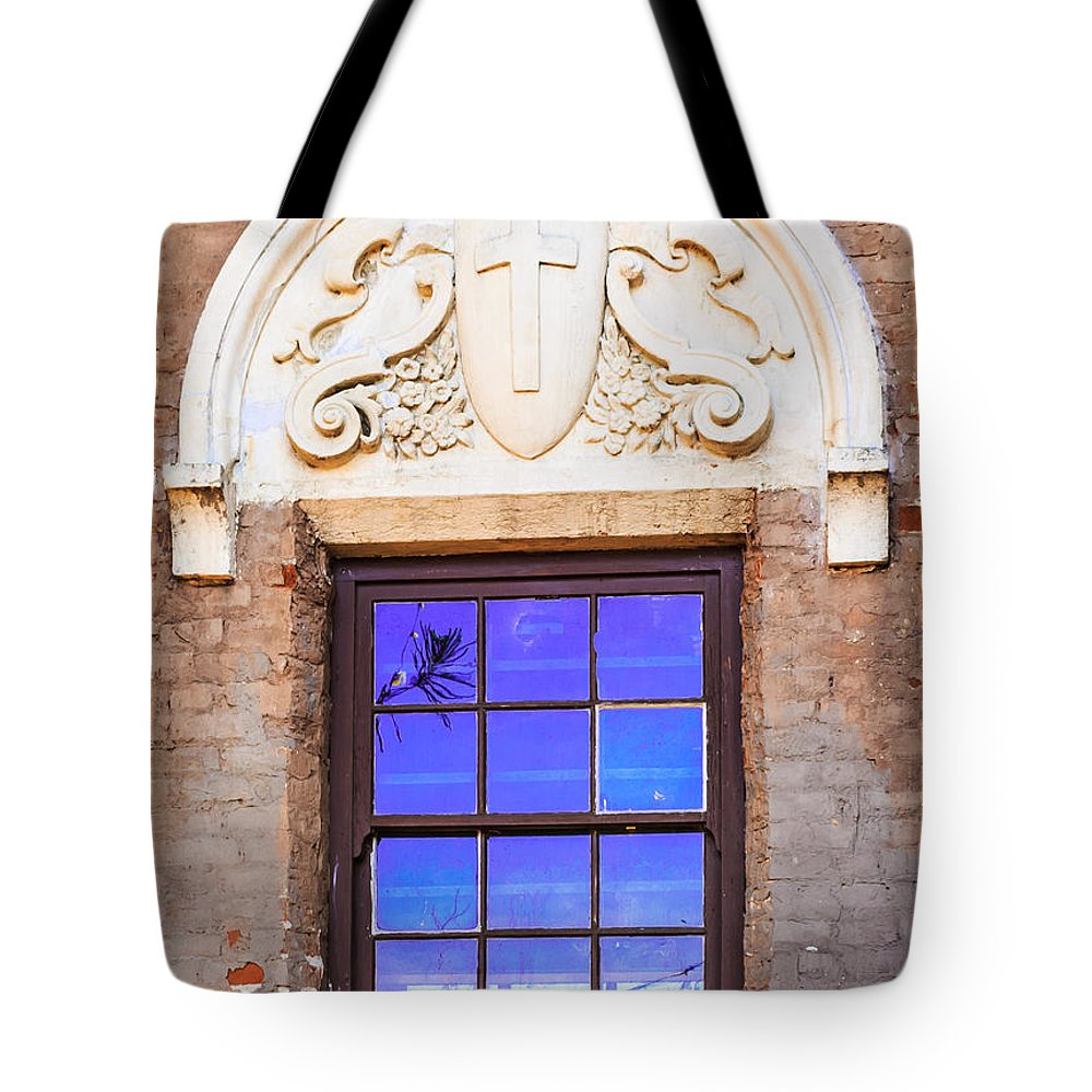Photographs Tote Bag featuring the photograph Old Window Mission San Buenaventura by Danny Goen