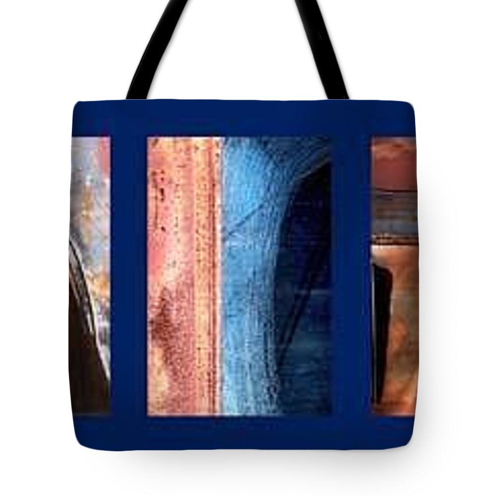 Abstract Tote Bag featuring the photograph Ole Bill by Steve Karol