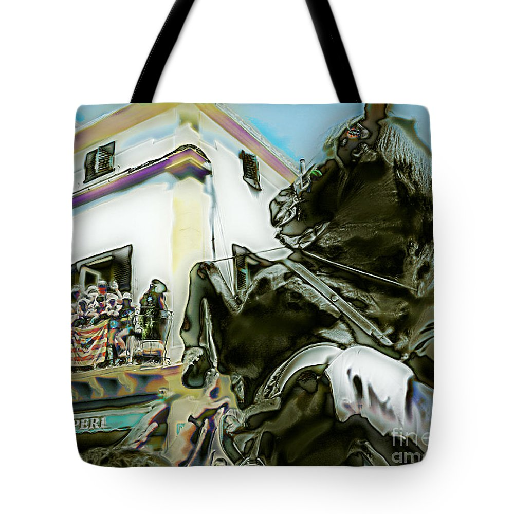 Ebsq Tote Bag featuring the photograph Ole Ole by Dee Flouton