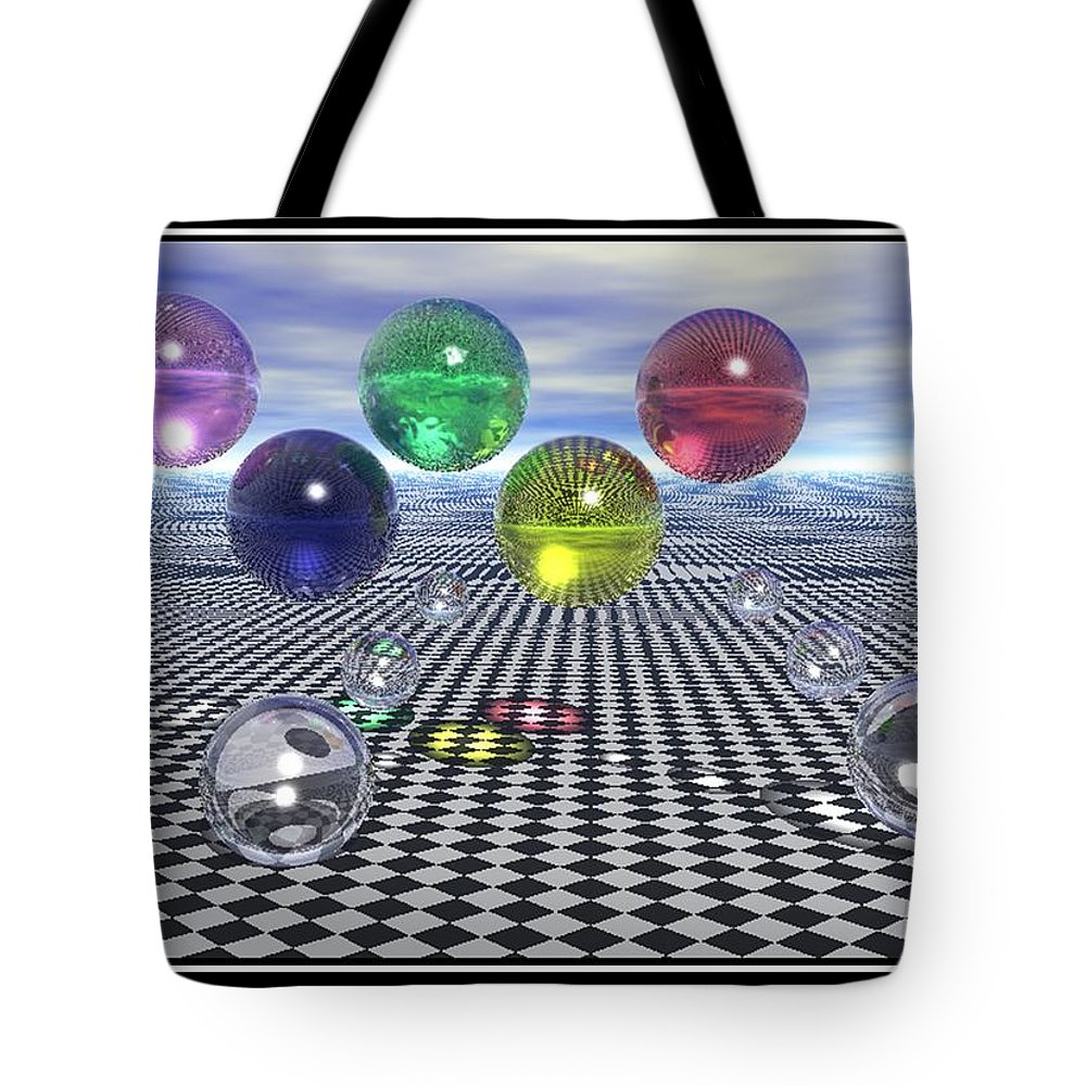 Olympic Dreams Surreal Art Tote Bag featuring the digital art Olympic Dreams by William Ballester