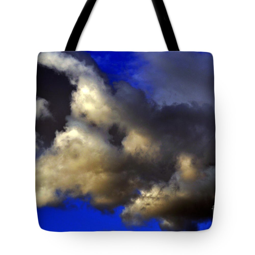 Clay Tote Bag featuring the photograph Ominous by Clayton Bruster