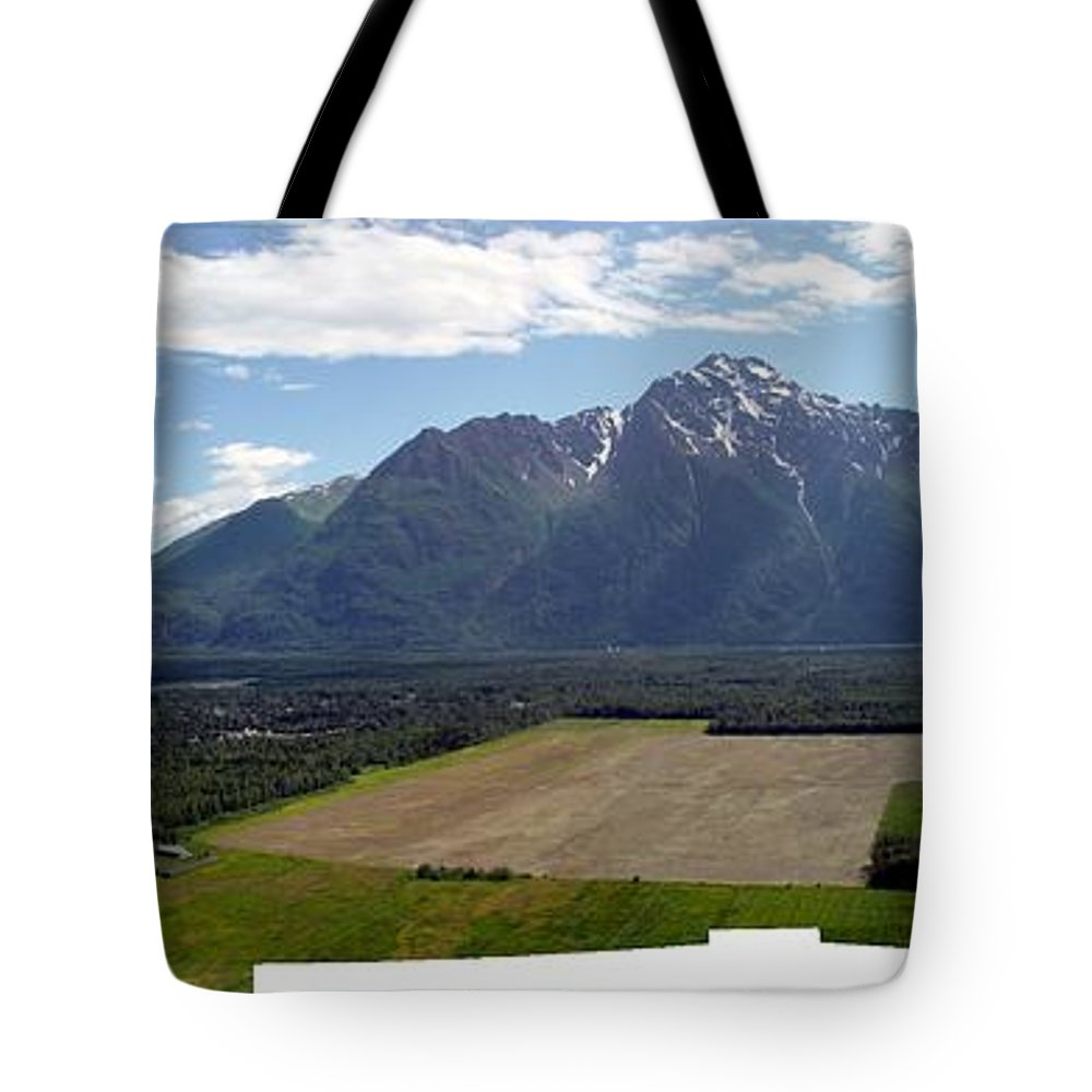 Landscape Tote Bag featuring the photograph On A Butteiful Day by Ron Bissett