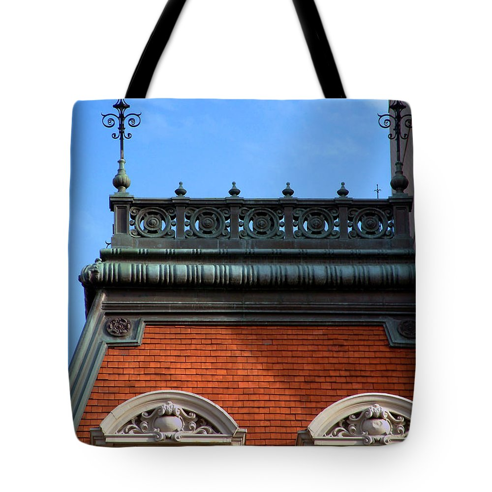 Apartment Tote Bag featuring the photograph On A Clear Day by RC DeWinter