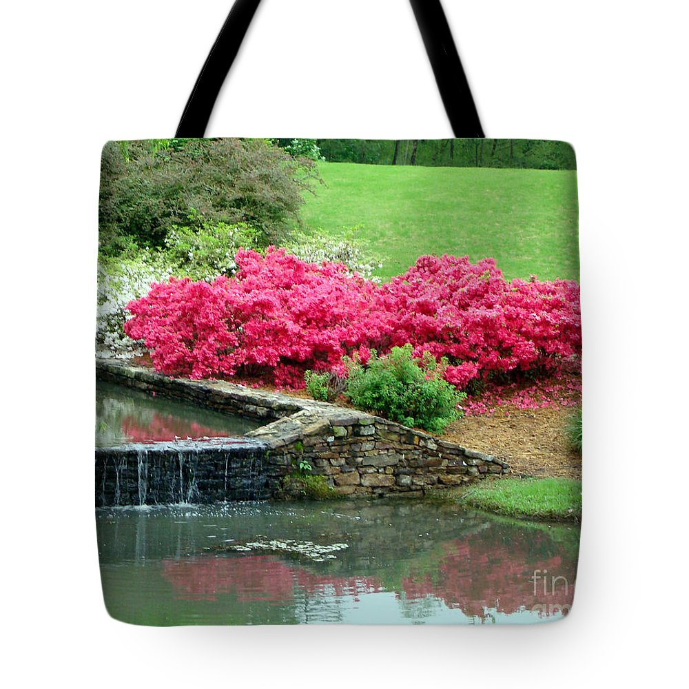 Landscape Tote Bag featuring the photograph On A June Day by Kathy Bucari