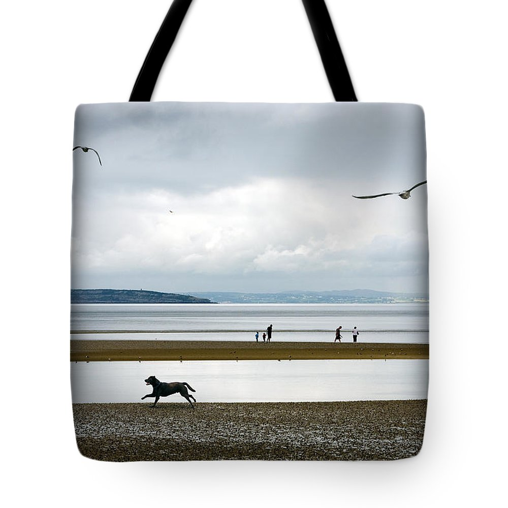 Beach Tote Bag featuring the photograph On The Beach by Mal Bray