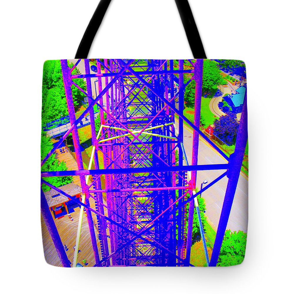 Still Life Tote Bag featuring the photograph On Top Of The World by Ed Smith
