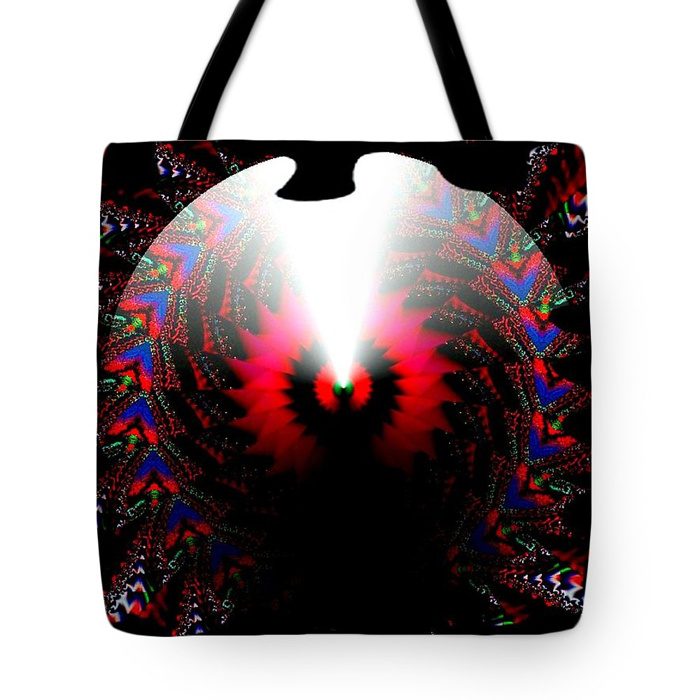 Cone Tote Bag featuring the digital art Once In A Lifetime by Robert Orinski