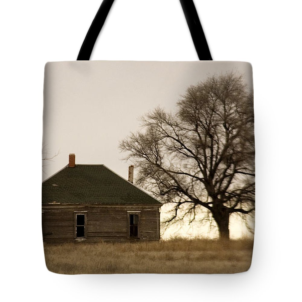 Americana Tote Bag featuring the photograph Once Upon A Time In West Texas by Marilyn Hunt