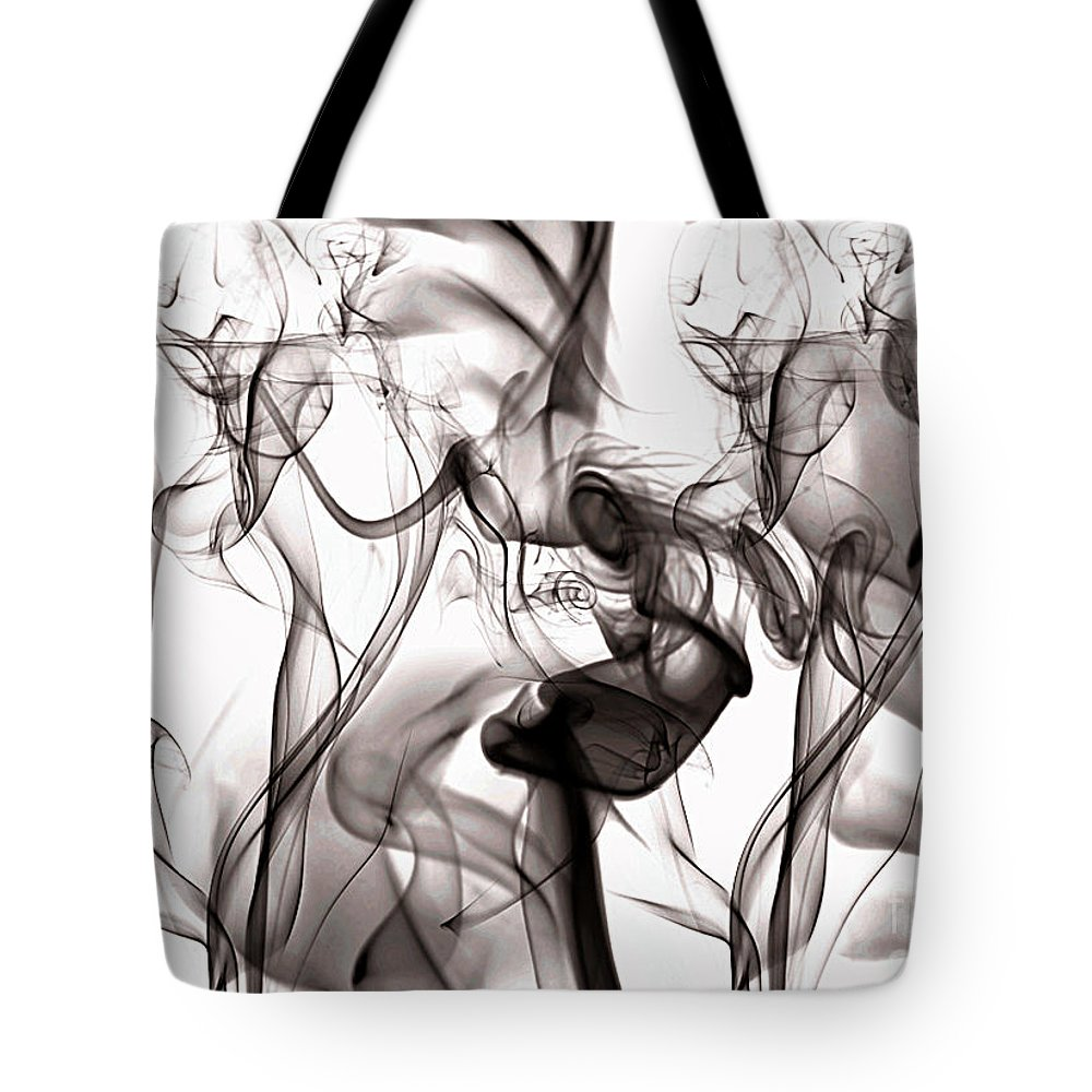 Clay Tote Bag featuring the digital art One Among Many by Clayton Bruster