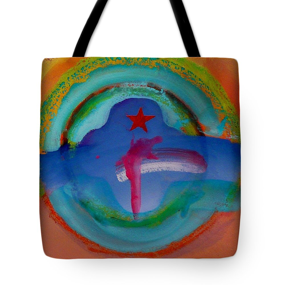 Logo Tote Bag featuring the painting one by Charles Stuart