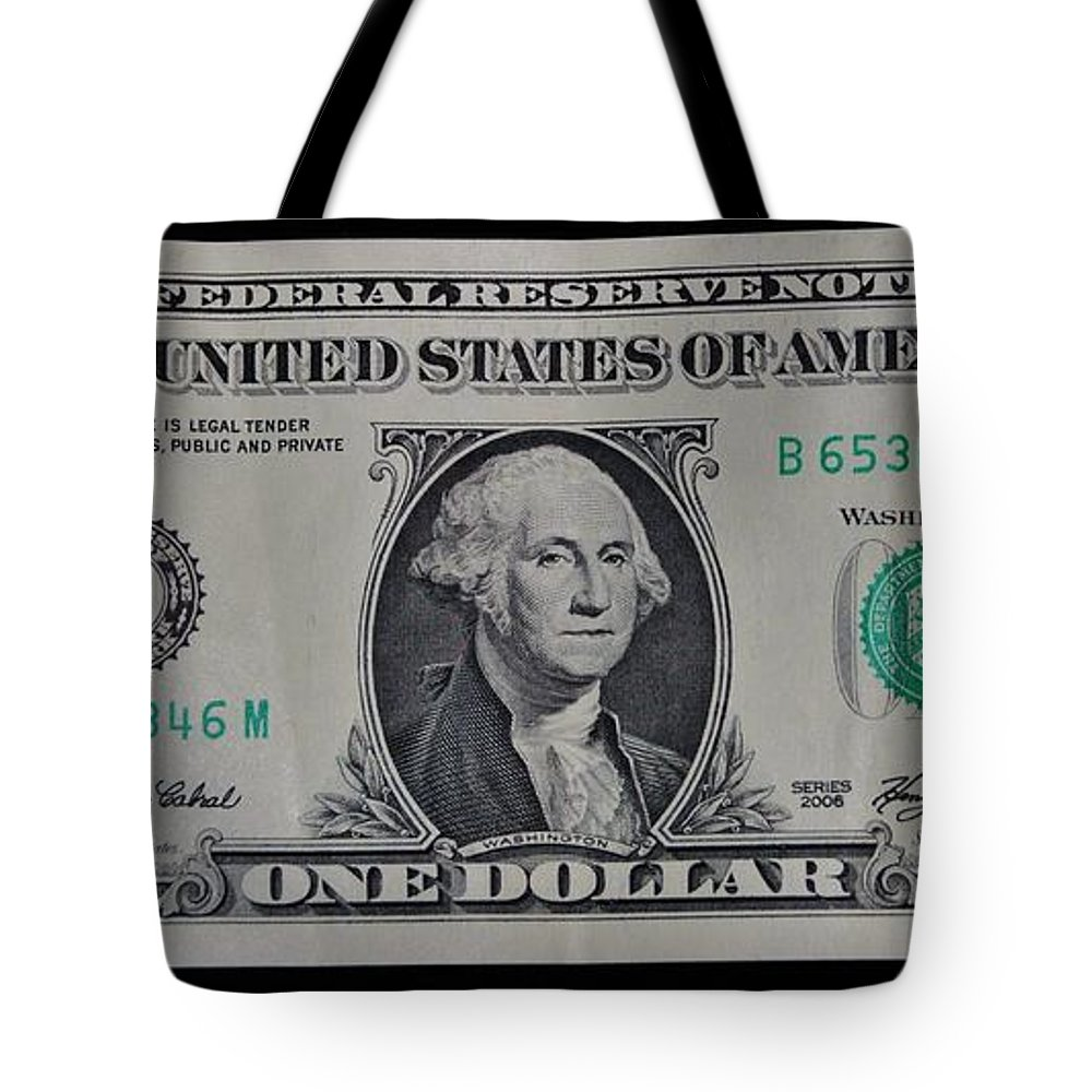 One Tote Bag featuring the photograph One Green by Rob Hans