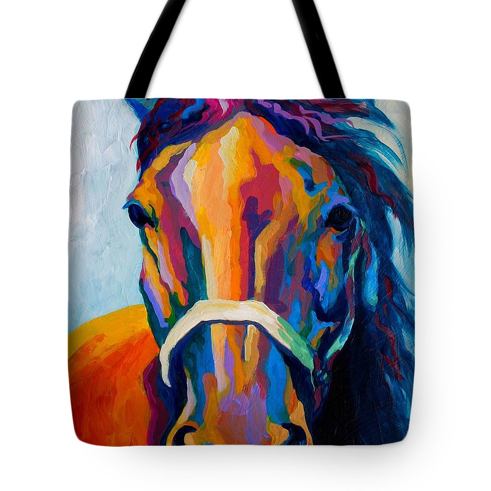 Horse Paintings Tote Bags