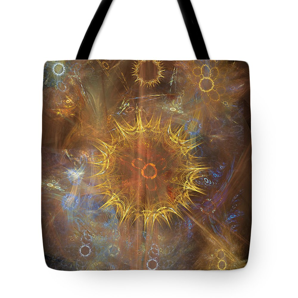One Ring To Rule Them All Tote Bag featuring the digital art One Ring To Rule Them All by John Beck
