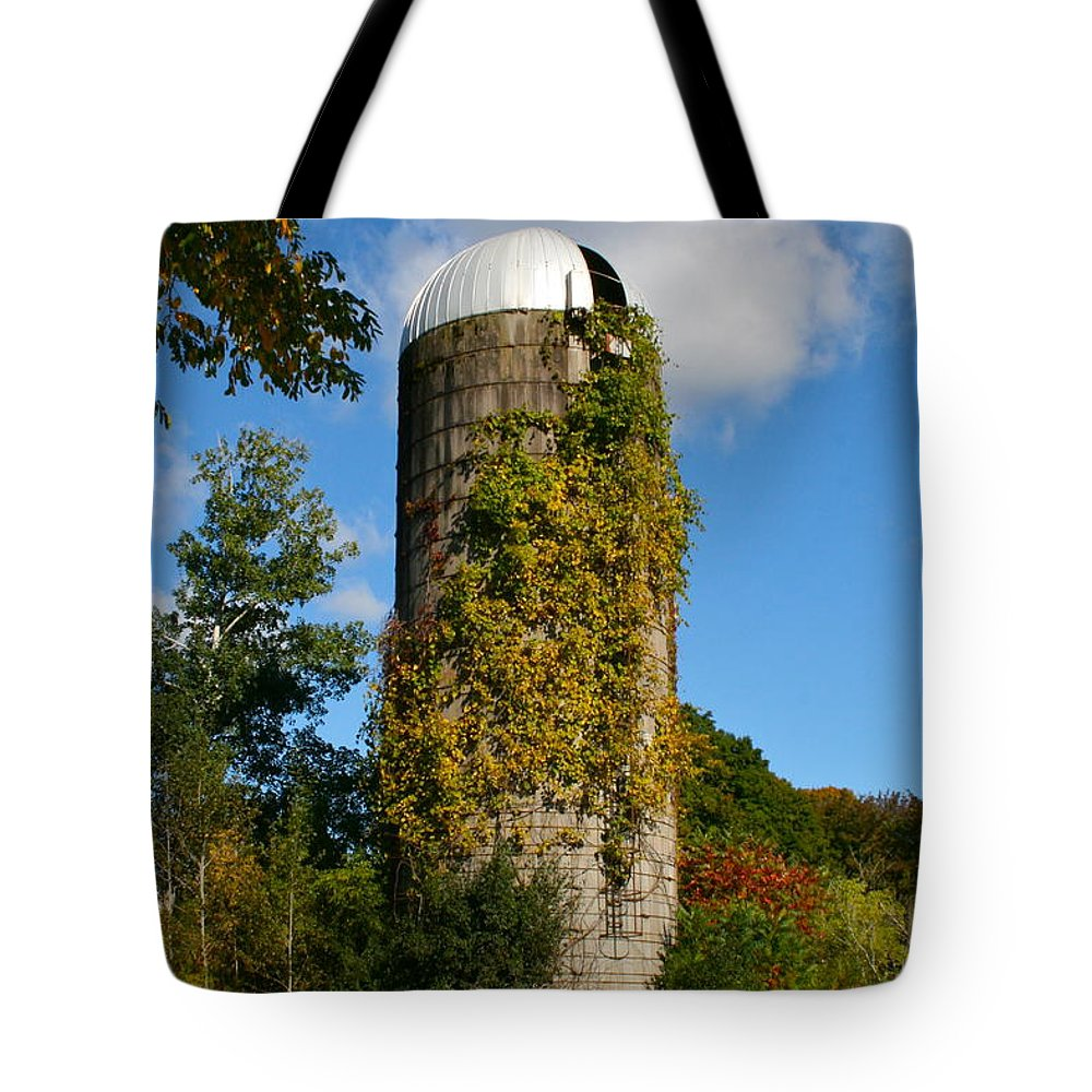 Silo Tote Bag featuring the photograph One With Nature by Rick Monyahan