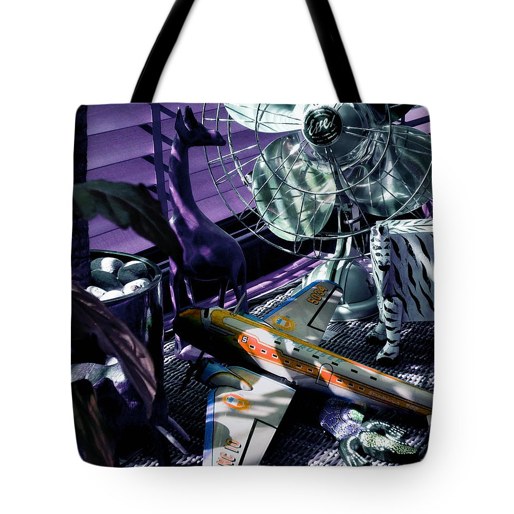 Still Life Tote Bag featuring the photograph Only Angels Have Wings by Charles Stuart