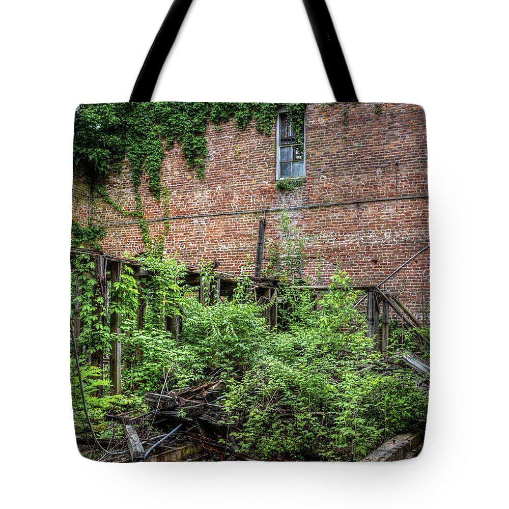 Tote Bag featuring the photograph Open Air Garden by Jim Figgins