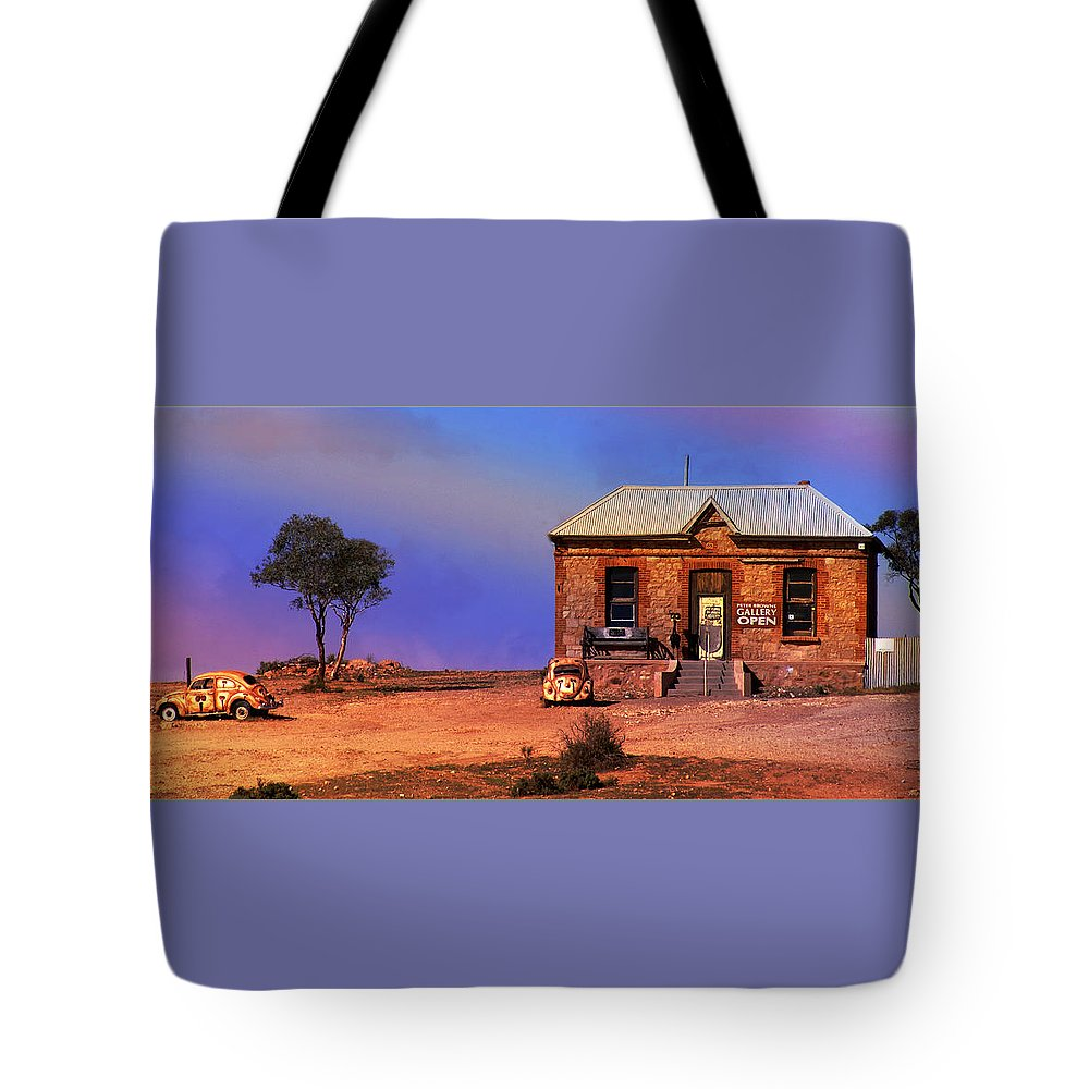 Landscape Tote Bag featuring the photograph Open For Business by Holly Kempe